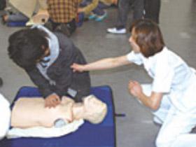 心肺蘇生法講習